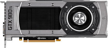 GeForce RTX 2080 vs GeForce GTX 980 Ti
