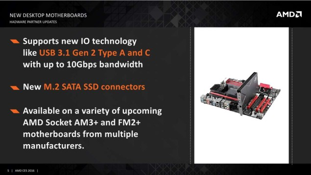 AMD new motherboards